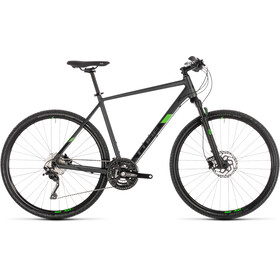 Cube Cross Pro Hybrid Bike grey